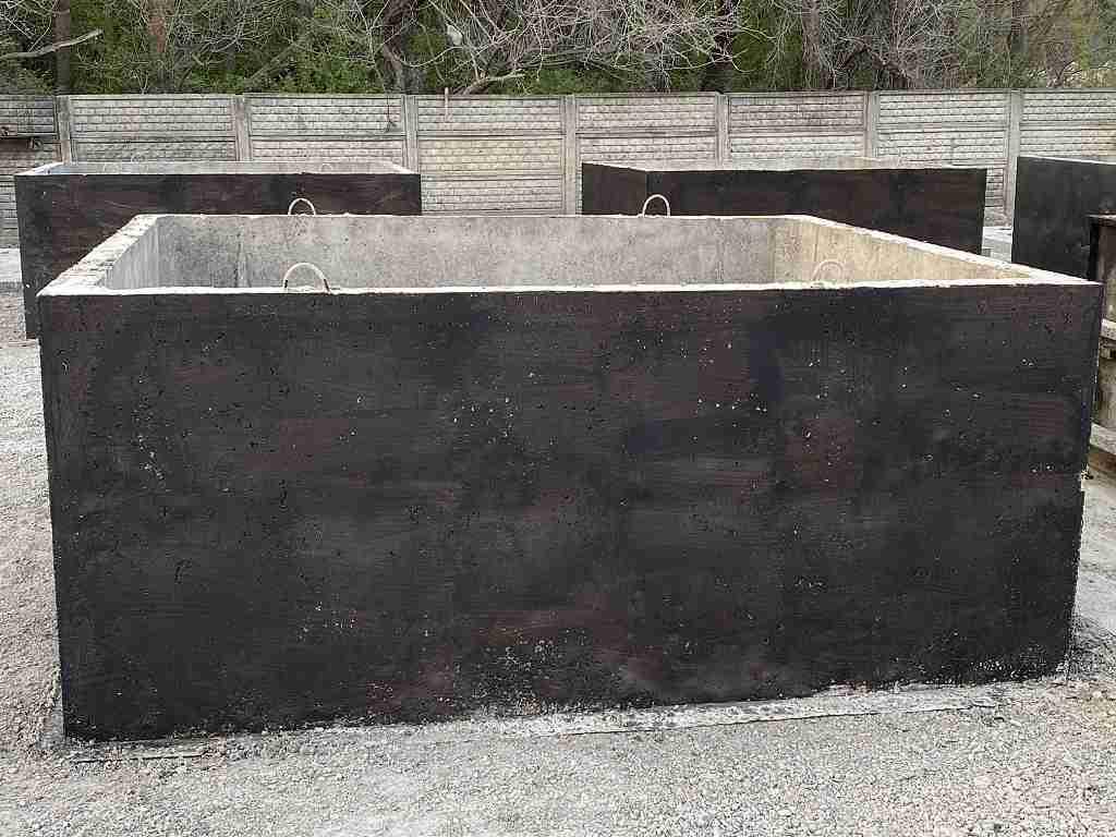 Betonová nádrž